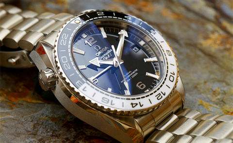 Replica Omega SeaMaster Gmt 215.30.44.22.01.001 Watch